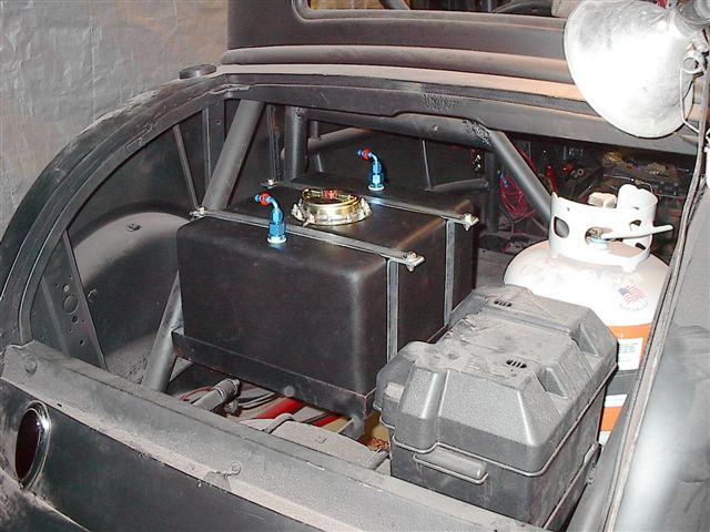 photo album mounting the fuel cell ground wire vented overflow line