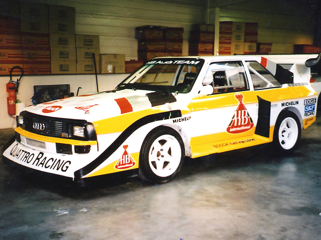 1983 Audi UR Quattro WR Restoration Project For Sale  Car